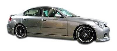 Extreme Dimensions 16 - Infiniti G35 4DR Duraflex GT Competition Side Skirts Rocker Panels - 2 Piece - 100472
