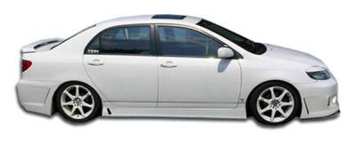 Extreme Dimensions 16 - Toyota Corolla Duraflex B-2 Side Skirts Rocker Panels - 2 Piece - 100534