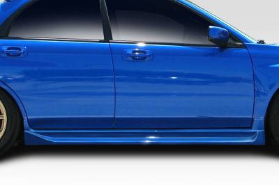 Extreme Dimensions 16 - Subaru WRX Duraflex GT Competition Side Skirts Rocker Panels - 2 Piece - 100608