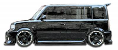 Extreme Dimensions 16 - Scion xB Duraflex FAB Side Skirts Rocker Panels - 2 Piece - 100619