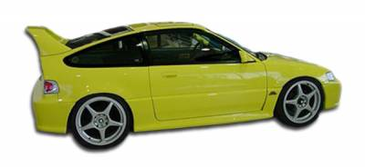 Extreme Dimensions 16 - Honda CRX Duraflex Type M Side Skirts Rocker Panels - 2 Piece - 100818