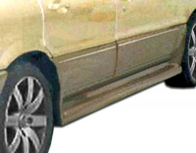 Extreme Dimensions 16 - Mitsubishi Galant Duraflex Cyber Side Skirts Rocker Panels - 2 Piece - 100833