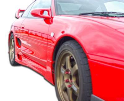 Extreme Dimensions 16 - Toyota MR2 Duraflex Type T Side Skirts Rocker Panels - 2 Piece - 101046