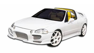 Extreme Dimensions 16 - Honda Del Sol Duraflex Aggressive Side Skirts Rocker Panels - 2 Piece - 101245
