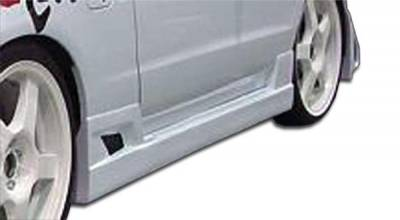 Extreme Dimensions - Honda Del Sol Duraflex Buddy Side Skirts Rocker Panels - 2 Piece - 101248