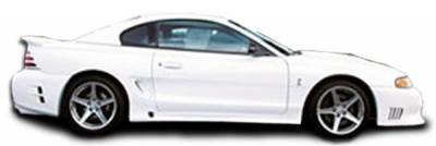 Extreme Dimensions 16 - Ford Mustang Duraflex Colt 2 Side Skirts Rocker Panels - 2 Piece - 101432