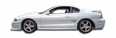 Extreme Dimensions 16 - Ford Mustang Duraflex Colt Side Skirts Rocker Panels - 2 Piece - 101436