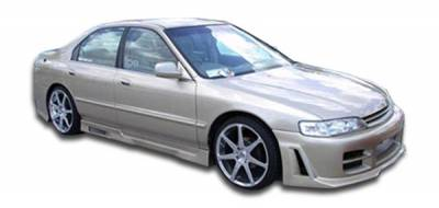 Extreme Dimensions - Honda Accord 4DR Duraflex Spyder Side Skirts Rocker Panels - 2 Piece - 101450