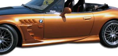 Extreme Dimensions 16 - BMW Z3 Duraflex Vader Side Skirts Rocker Panels - 4 Piece - 101708