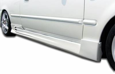 Extreme Dimensions 16 - Honda Civic 2DR & 3DR Duraflex AVG Side Skirts Rocker Panels - 2 Piece - 101734