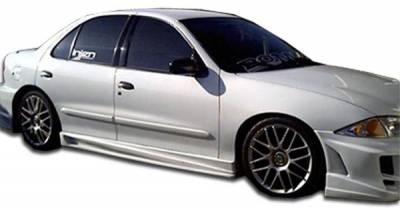 Extreme Dimensions 16 - Chevrolet Cavalier 2DR Duraflex Bomber Side Skirts Rocker Panels - 2 Piece - 101805