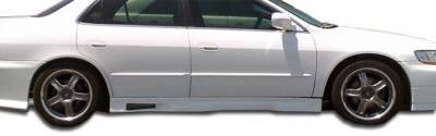Extreme Dimensions 16 - Honda Accord 4DR Duraflex Spyder Side Skirts Rocker Panels - 2 Piece - 101986