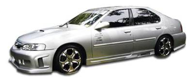 Extreme Dimensions 16 - Nissan Altima Duraflex Spyder Side Skirts Rocker Panels - 2 Piece - 102020