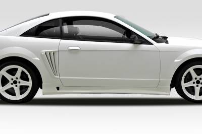 Extreme Dimensions 16 - Ford Mustang Duraflex Colt Side Skirts Rocker Panels - 2 Piece - 102080