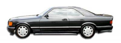 Extreme Dimensions 16 - Mercedes-Benz S Class Duraflex AMG Look Side Skirts Rocker Panels - 2 Piece - 102238