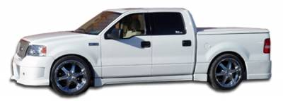 Ford F150 Duraflex Platinum Side Skirts Rocker Panels - 4 Piece - 102261