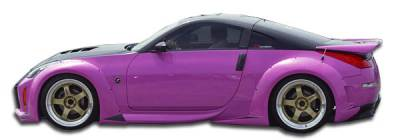 Extreme Dimensions 16 - Nissan 350Z Duraflex Vader 3 Wide Body Side Skirts Rocker Panels - 2 Piece - 102264