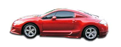 Extreme Dimensions 16 - Mitsubishi Eclipse Duraflex Racer Side Skirts Rocker Panels - 2 Piece - 102273