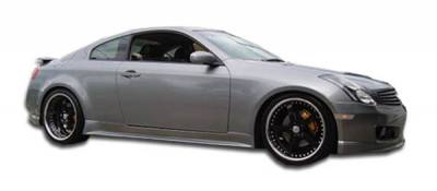 Infiniti G35 2DR Duraflex GT Competition Side Skirts Rocker Panels - 2 Piece - 102293