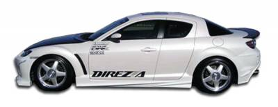 Extreme Dimensions 16 - Mazda RX-8 Duraflex Velocity Side Skirts Rocker Panels - 2 Piece - 102300
