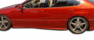 Extreme Dimensions 16 - Lexus GS Duraflex VIP Side Skirts Rocker Panels - 2 Piece - 102315