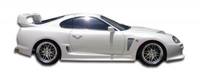 Duraflex - Toyota Supra Duraflex TD3000 Wide Body Side Skirts Rocker Panels - 2 Piece - 102531