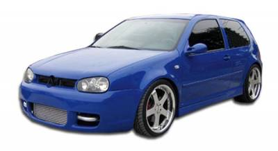 Couture - Volkswagen GTI 2DR R32 Couture Urethane Side Skirts Body Kit 102594
