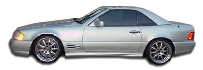 Extreme Dimensions 16 - Mercedes-Benz SL Duraflex AMG Look Side Skirts Rocker Panels - 2 Piece - 103089