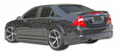 Extreme Dimensions 16 - Ford Fusion Duraflex Racer Side Skirts Rocker Panels - 2 Piece - 103092