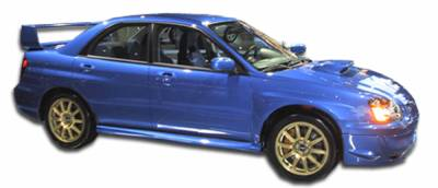 Extreme Dimensions 16 - Subaru WRX Duraflex STI Look Side Skirts Rocker Panels - 2 Piece - 103187