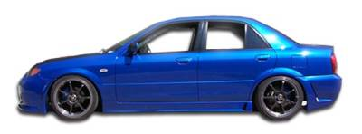 Extreme Dimensions 16 - Mazda Protege Duraflex B-2 Side Skirts Rocker Panels - 2 Piece - 103272