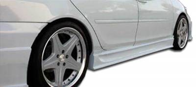 Extreme Dimensions 16 - Toyota Camry Duraflex Sigma Side Skirts Rocker Panels - 2 Piece - 103290