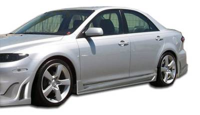 Extreme Dimensions 16 - Mazda 6 Duraflex Bomber Side Skirts Rocker Panels - 2 Piece - 103306