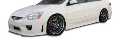 Extreme Dimensions 16 - Honda Accord 4DR Duraflex Sigma Side Skirts Rocker Panels - 2 Piece - 103308