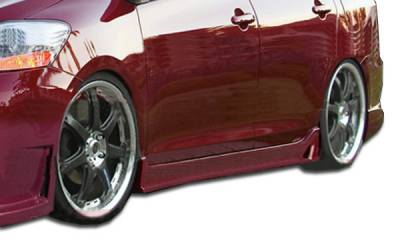 Extreme Dimensions 16 - Toyota Yaris Duraflex B-2 Side Skirts Rocker Panels - 2 Piece - 103393