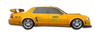 Duraflex - Ford Crown Victoria Duraflex GT Concept Side Skirts Rocker Panels - 2 Piece - 103533