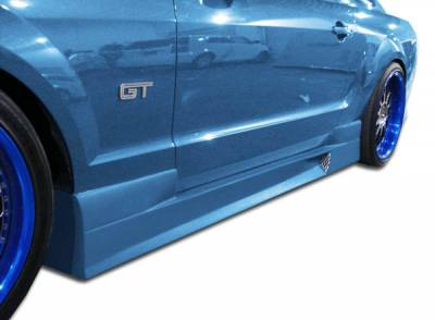Extreme Dimensions 16 - Ford Mustang Duraflex GT Concept Side Skirts Rocker Panels - 2 Piece - 103636