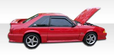 Extreme Dimensions 16 - Ford Mustang Duraflex Cobra R Side Skirts Rocker Panels - 2 Piece - 103761