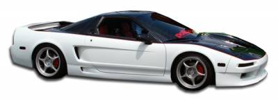 Seibon - Acura NSX Duraflex G-Force Side Skirts Rocker Panels - 2 Piece - 103974