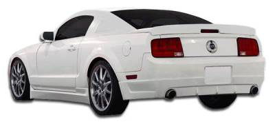Extreme Dimensions 16 - Ford Mustang Duraflex Racer 2 Side Skirts Rocker Panels - 2 Piece - 104367