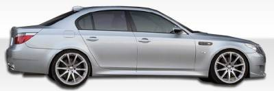 Extreme Dimensions 16 - BMW 5 Series Duraflex M5 Look Side Skirts Rocker Panels - 2 Piece - 104422