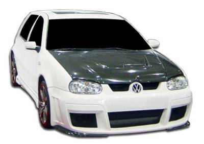 Extreme Dimensions 16 - Volkswagen Golf GTI Duraflex Velocity Side Skirts Rocker Panels - 2 Piece - 104522