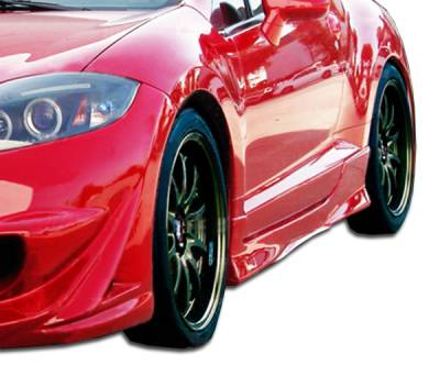 Extreme Dimensions 16 - Mitsubishi Eclipse Duraflex Eternity Side Skirts Rocker Panels - 2 Piece - 104701