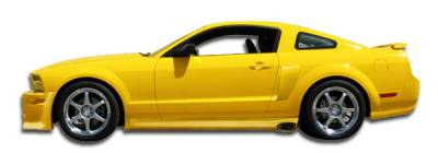 Extreme Dimensions 16 - Ford Mustang Duraflex Eleanor Side Skirts Rocker Panels - 2 Piece - 104768