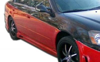 Extreme Dimensions 16 - Nissan Altima Duraflex Cyber Side Skirts Rocker Panels - 2 Piece - 104900