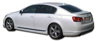 Extreme Dimensions 16 - Lexus GS Duraflex I-Spec Side Skirts Rocker Panels - 2 Piece - 104927