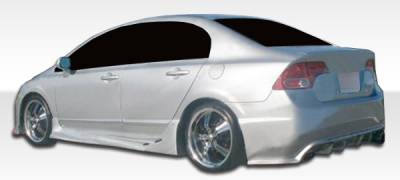 Extreme Dimensions 16 - Honda Civic 4DR Duraflex I-Spec Side Skirts Rocker Panels - 2 Piece - 104933