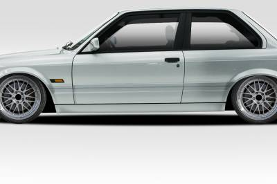BMW 3 Series 2DR Duraflex M-Tech Side Skirts Rocker Panels - 2 Piece - 105046