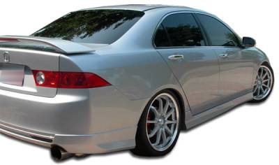 Extreme Dimensions 16 - Acura TSX Duraflex J-Spec Side Skirts Rocker Panels - 2 Piece - 105224