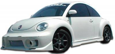 Extreme Dimensions 16 - Volkswagen Beetle Duraflex Evo 5 Side Skirts Rocker Panels - 2 Piece - 105659
